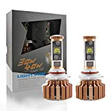 9006 Auto LED Headlight Kit by Evitek, CREE LED, 6000K Pure White Light and 30W Per bulb, Easy-Installed All-in-One Set of LED Headlights over 3000LM Light Bulbs- 1 Year Warranty