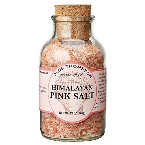 Olde Thompson 23-118 12-Ounce Gourmet Pink Himalayan Salt Crystals