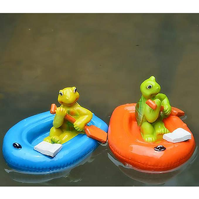 Amazon.com : Flameer 14 Options Water Floating Lotus Leaf Turtle ...