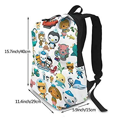 Aebipo The Oc-to-nauts Student Backpack Kids Print Backpack College School Computer Bag For Boy & Girl | Kids' Backpacks