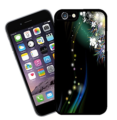 Flower design 008 - This cover will fit Apple model iPhone 7 (not 7 plus) - By Eclipse Gift Ideas