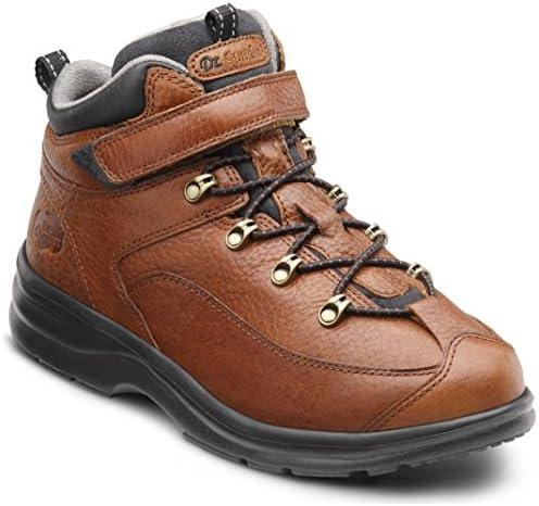 Dr. Comfort Women s Vigor Chestnut Diabetic Hiking Boots