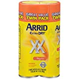Arrid Extra Dry Aerosol Antiperspirant Deodorant, Regular, 6 Oz, Twin Pack