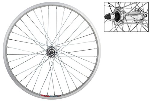 WheelMaster Front Bicycle Wheel 20 x 1.75, 36H, Alloy, Bolt On, Silver