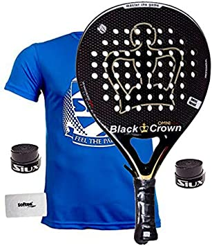 Pala De Padel Black Crown Omni: Amazon.es: Deportes y aire libre