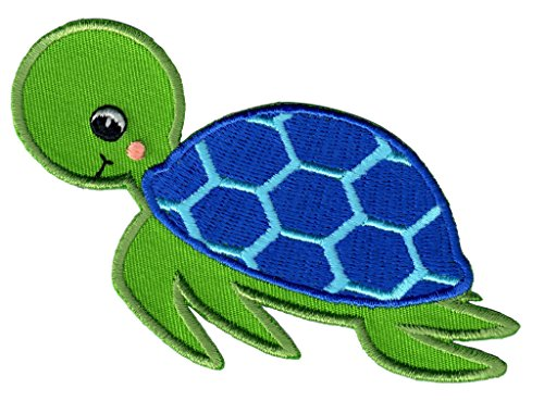 PatchMommy Iron On Patch, Sea Turtle - Appliques for Kids ()