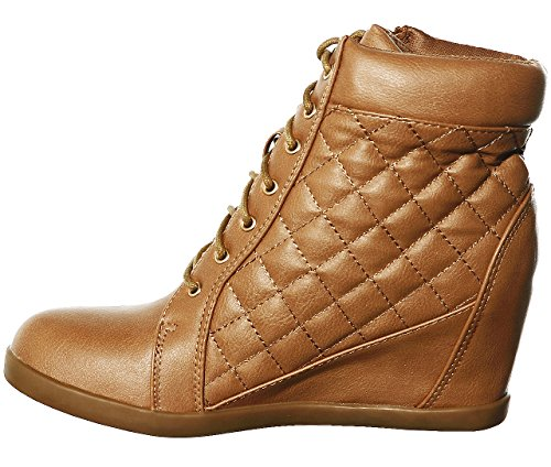 Wedge Fashion Pl Women's top Tanrr45 Hi Lace up Shoewhatever Sneakers qTSIRxww