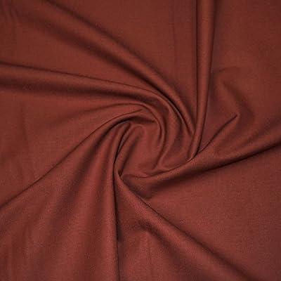 Terracota – tela de algodón, lisa,: Amazon.es: Industria, empresas ...