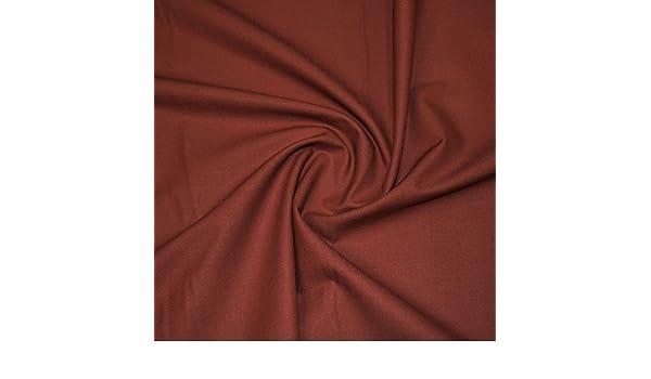 Terracota – tela de algodón, lisa,: Amazon.es: Industria, empresas y ciencia
