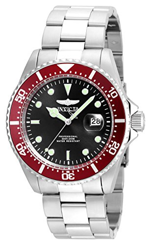 Invicta Men s Pro Diver Quartz Diving Watch with Stainless-Steel Strap, Silver, 21 Model 22020