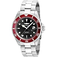 Invicta Mens Pro Stainless Steel Diving Mens Watch