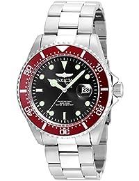 Men's 'Pro Diver' Quartz Stainless Steel Diving Watch, Color:Silver-Toned (Model: 22020)