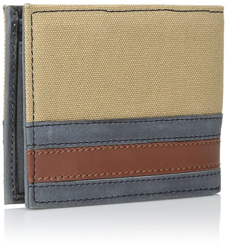 Wallet Leather Exeter Hilfiger Passcase Men's Exeter Billfold Tommy Khaki nFYEqUUw