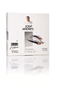 Jose Andres Foods Sardines in Olive Oil, 5.3 Ounce
