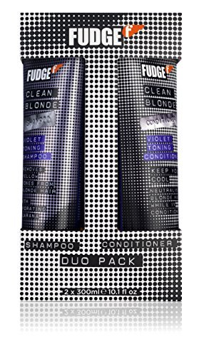 FUDGE Duo Shampoo and Conditioner, Clean Violet Blonde 30...