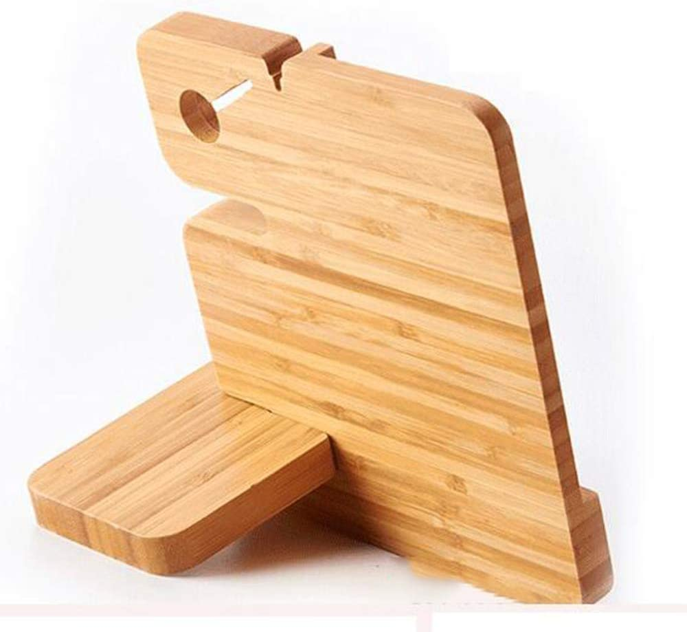 Suitable for All Kinds of Mobile Phones DPFXNN Multifunctional Wooden Phone Holder Waterproof and Anti-Corrosion