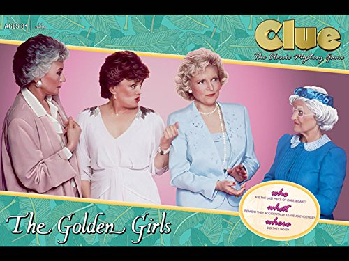 usaopoly the golden girls clue board game toys games games. Black Bedroom Furniture Sets. Home Design Ideas