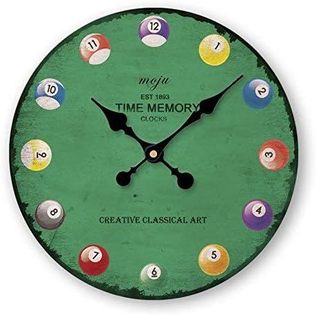Reloj de Pared Sin marcar Número Cuarzo Reloj de Pared Salón ...