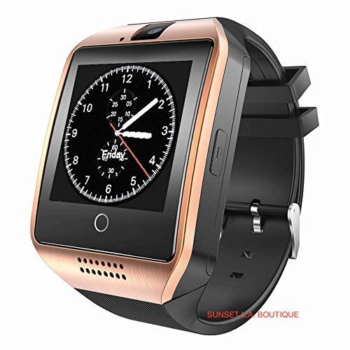 Amazon.com: Smart Watch with Camera, Q18 Bluetooth ...