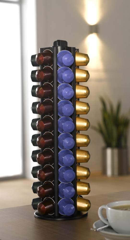 Travola Swiss Capstore Alu 60 Gift Boxed Holds 60 Nespresso Capsules