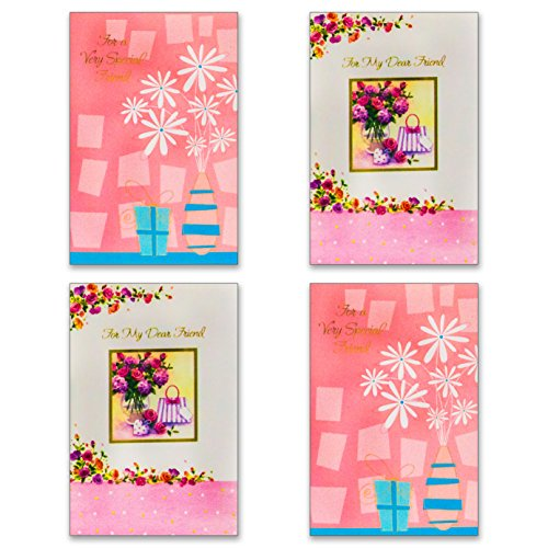 12 Friendship Cards with Envelopes - Boxed