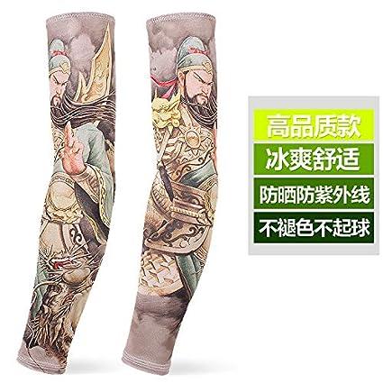 JinRui-Sport Mangas tatuadasManguito de protección Solar ...
