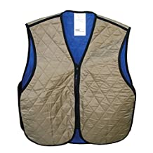 HyperKewl Cooling Sport Vest - Enhance your performance in the Heat! - -KHAKI-2X