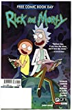 #7: RICK and MORTY #1, NM, FCBD, Adult Swim, 2017, more Promo / items in store