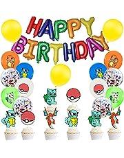 Feestdecoratie meisjes verjaardag decoratie ballon folieballonnen cake toppers verjaardag party decoratie set feestaccessoires
