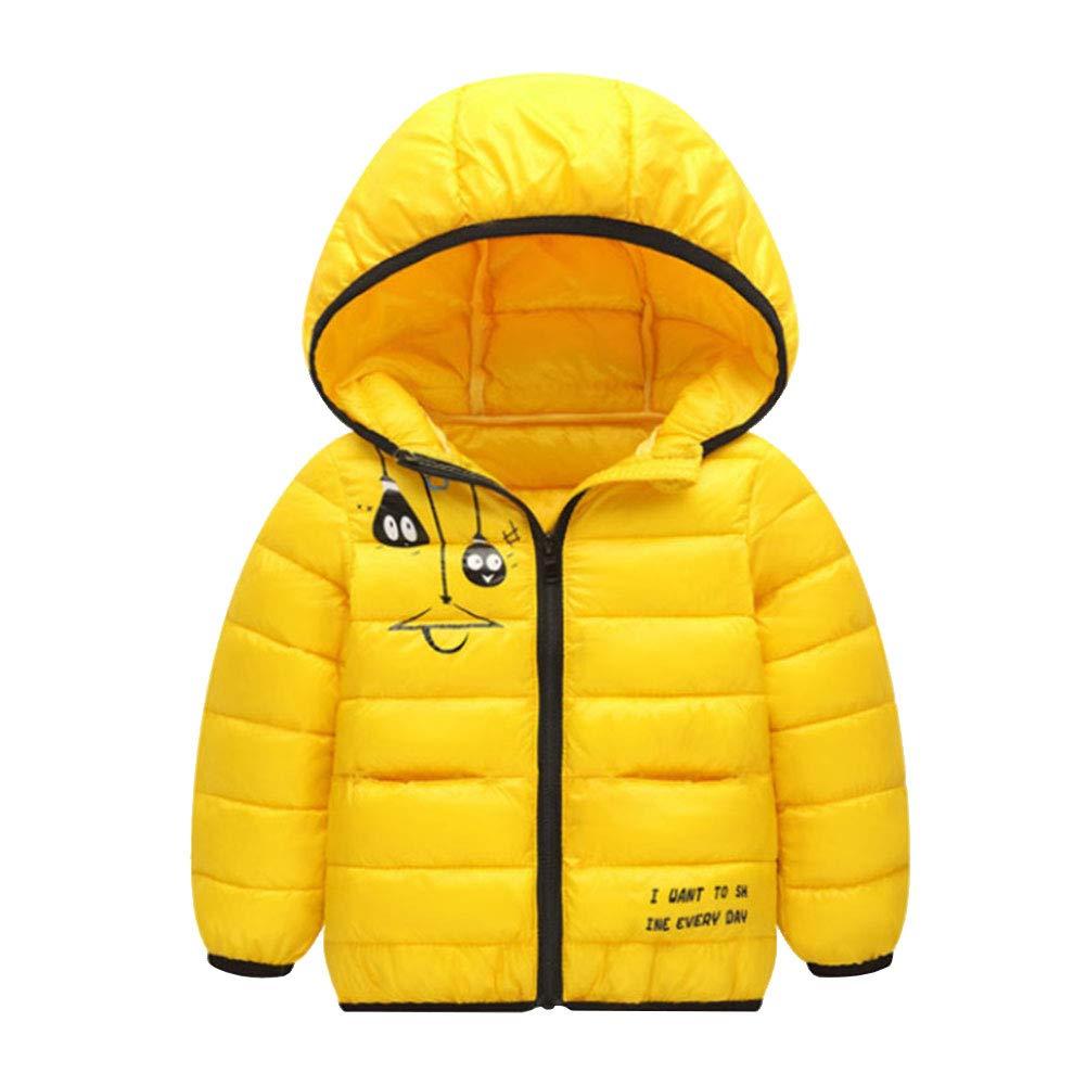 M&A Kids Lightweight Water-Resistant Puffer Jacket for Boys Girls Winter Coat