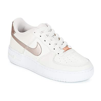 Nike Air Force 1 (GS), Chaussures de Basketball Fille, Multicolore (Phantom 4ff6213be06d