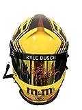 Kyle Busch M&M's (2015 Champion) Signed Full Size Helmet - JSA Certified - Autographed NASCAR Helmets