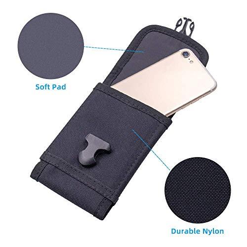 Pochette De Téléphone Tactique MOLLE, Étui De Téléphone De L'armée Pochette De Ceinture Sac De Taille Pour iPhone 6s… 5