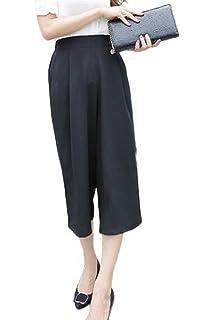 Bigood Pantalon à Fleur Femme Large Jambe Sport Yoga Plage Jogging ... 4e70b6ac49d9
