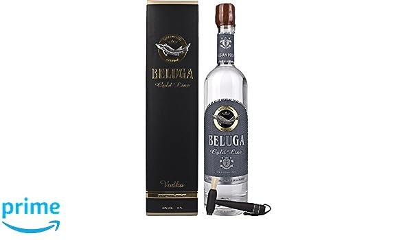 Vodka Beluga Gold - 1 x 0.7 l: Amazon.es: Alimentación y bebidas
