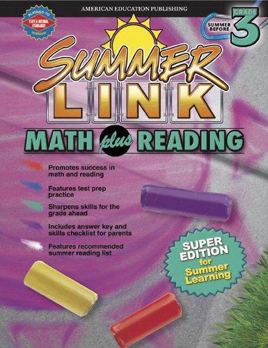 Summer Link Math plus Reading, Summer Before Grade 3