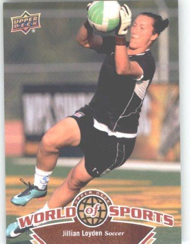 2010 Upper Deck World of Sports #110 Jillian Loyden/Women's Soccer Cards/Villanova - Upper Card Deck Soccer Women
