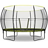 Rebo Base Jump Trampoline With Halo II Enclosure - 4 Sizes Avaliable (12FT)