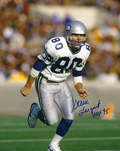 Autographed Steve Largent 8x10 Seattle Seahawks Photo