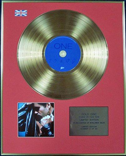 GEORGE MICHAEL - Ltd Edition CD 24 Carat Coated Gold Disc - FAITH by CenturyMusic
