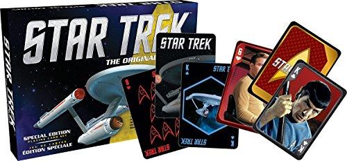 Aquarius Star Trek Matchbox Playing Card Set ()