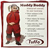 Tuffo Muddy Buddy Coveralls, Red, 18 Months