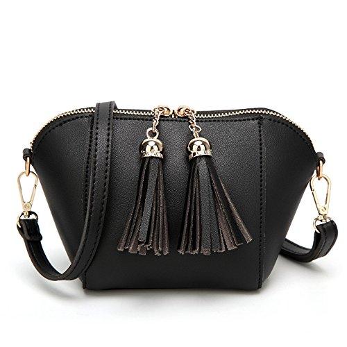 Black Negro Retro Señoras Moda Bag GWQGZ Satchel BY8wYX