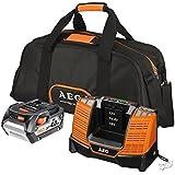 Aeg-Conj. Chargeur Batterie 18 V 4,0Ah Sac