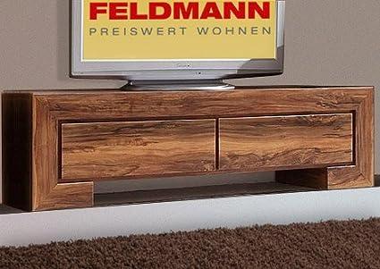 Mueble bajo para televisor 512276 cómoda de palisandro 120 cm ...