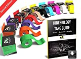 "Best Kinesiology Tapes - Red Kinesiology Tape Pro 2"" x 16.5' Review"