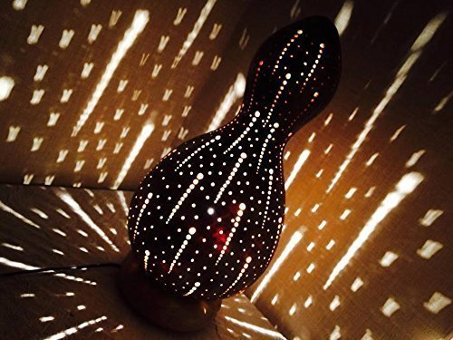 The Aboriginal | Gourd Lamp Night Light Unique Birthday Gift Idea Her Women Home Decor Interior Ambient Lighting