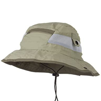 UV 50+ Side Snap Talson Sun Bucket Hat at Amazon Men s Clothing store  859a95aa16bc