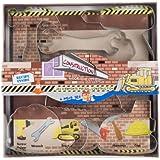 Fox Run 36007 Construction Cookie Cutter Set, 5-Piece