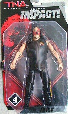 Jakks Pacific TNA Wrestling Deluxe Impact Series 4 Abyss Action Figure